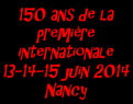 150 ans 1e Internationnale